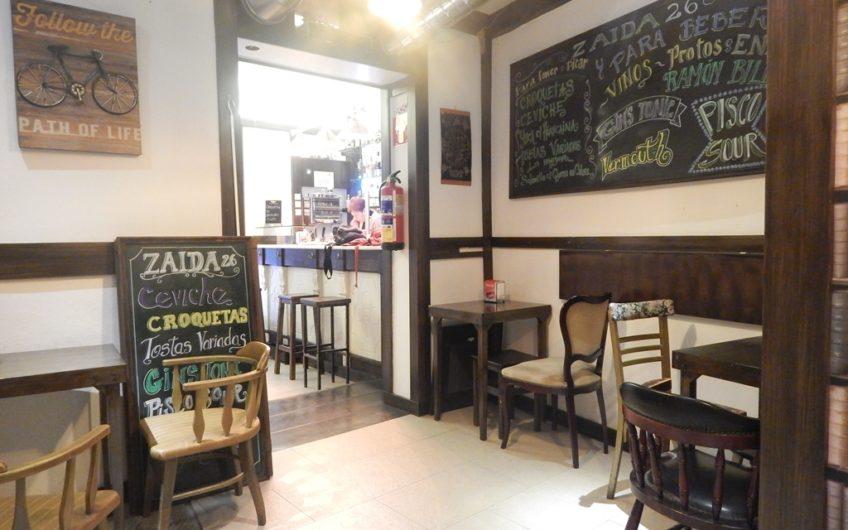 Deapi alquila bar cafetería en el corazón del Madrid castizo.