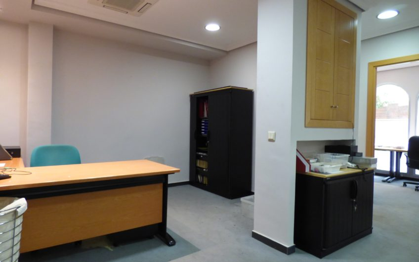 Zurbano, Edificio representativo. 2  fincas registrales distintas unidas físicamente. Actualmente como oficina. A reformar, bajo exterior. – 5679