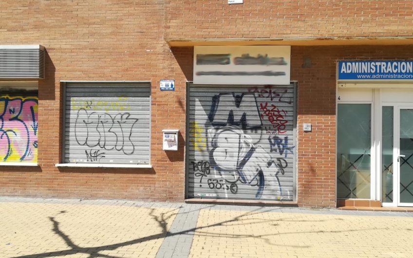 Local en venta con accesos desde Paseo Guadalajara y Av. Castilla la Mancha
